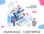 online administrator  web... | Shutterstock .eps vector #1160768926