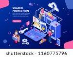 online administrator  web... | Shutterstock .eps vector #1160775796