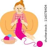 housewife | Shutterstock .eps vector #116078404