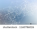 structure molecule and...   Shutterstock .eps vector #1160786026