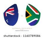 australia vs south africa  2018 ...   Shutterstock .eps vector #1160789086