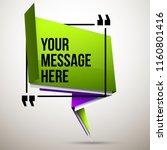 abstract vector illustration... | Shutterstock .eps vector #1160801416