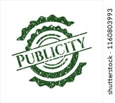 green publicity distressed... | Shutterstock .eps vector #1160803993