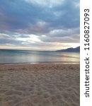 dahab beach sunset   Shutterstock . vector #1160827093