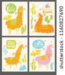 cute vector design with cartoon ... | Shutterstock .eps vector #1160827690