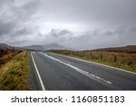 typical road conditions on the... | Shutterstock . vector #1160851183