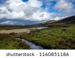 characteristic scottish... | Shutterstock . vector #1160851186