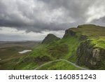walking tour on the isle of... | Shutterstock . vector #1160851243