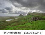walking tour on the isle of... | Shutterstock . vector #1160851246