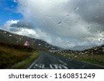 left hand traffic on the isle... | Shutterstock . vector #1160851249