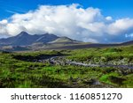typical countryside in scotland ... | Shutterstock . vector #1160851270