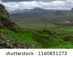 breathtaking panorama view over ... | Shutterstock . vector #1160851273