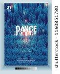 abstract abstract fiber optics... | Shutterstock .eps vector #1160851780