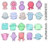 badge vector quality element... | Shutterstock .eps vector #1160856553