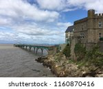the old pier  clevedon  ...   Shutterstock . vector #1160870416