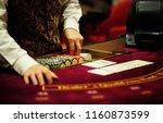 casino  poker cards | Shutterstock . vector #1160873599
