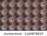 ethnic mandala towel. seamless...   Shutterstock . vector #1160878819