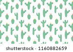 blooming cactus blank for... | Shutterstock .eps vector #1160882659