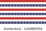 4th of july stars abstract... | Shutterstock .eps vector #1160885056