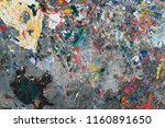 color stain after painting on... | Shutterstock . vector #1160891650