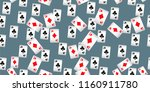 seamless pattern with casino...   Shutterstock . vector #1160911780
