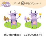 find differences  education... | Shutterstock .eps vector #1160926549