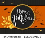 vector illustration with design ... | Shutterstock .eps vector #1160929873