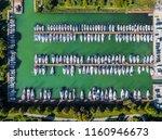 balatonfuzfo  hungary   yacht... | Shutterstock . vector #1160946673