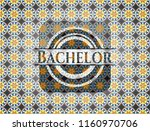bachelor arabesque emblem.... | Shutterstock .eps vector #1160970706