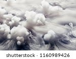 abstract background of clouds... | Shutterstock . vector #1160989426