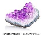 Violet Crystal Stone Macro...