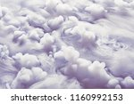 abstract background of clouds... | Shutterstock . vector #1160992153