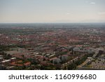 view of munich city in germany... | Shutterstock . vector #1160996680