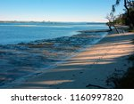 early morning on bribie island  ... | Shutterstock . vector #1160997820