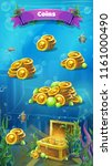 atlantis ruins   vector...   Shutterstock .eps vector #1161000490