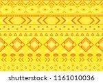 ikat pattern tribal ethnic...   Shutterstock .eps vector #1161010036