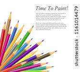 vector illustration of colored... | Shutterstock .eps vector #1161014479