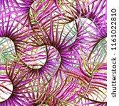 watercolor tropical seamless...   Shutterstock . vector #1161022810