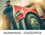 american trucker job. caucasian ...