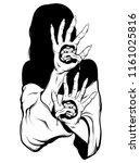 vector hand drawn illustration...   Shutterstock .eps vector #1161025816
