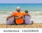 loving father with his son and...   Shutterstock . vector #1161028420