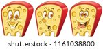 cheese. fast food concept.... | Shutterstock .eps vector #1161038800