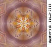 creative bright mandala....   Shutterstock . vector #1161043513