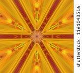 creative bright mandala....   Shutterstock . vector #1161043516