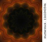 creative bright mandala....   Shutterstock . vector #1161043546