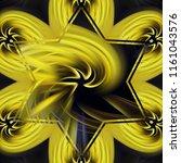 creative bright mandala....   Shutterstock . vector #1161043576