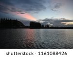 beautiful colorful morning sky... | Shutterstock . vector #1161088426