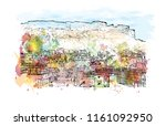 jodhpur is a city of the... | Shutterstock .eps vector #1161092950