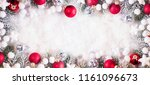 christmas and new year holidays ... | Shutterstock . vector #1161096673