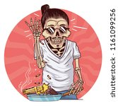 cook salt food   swag boss salt ... | Shutterstock .eps vector #1161099256